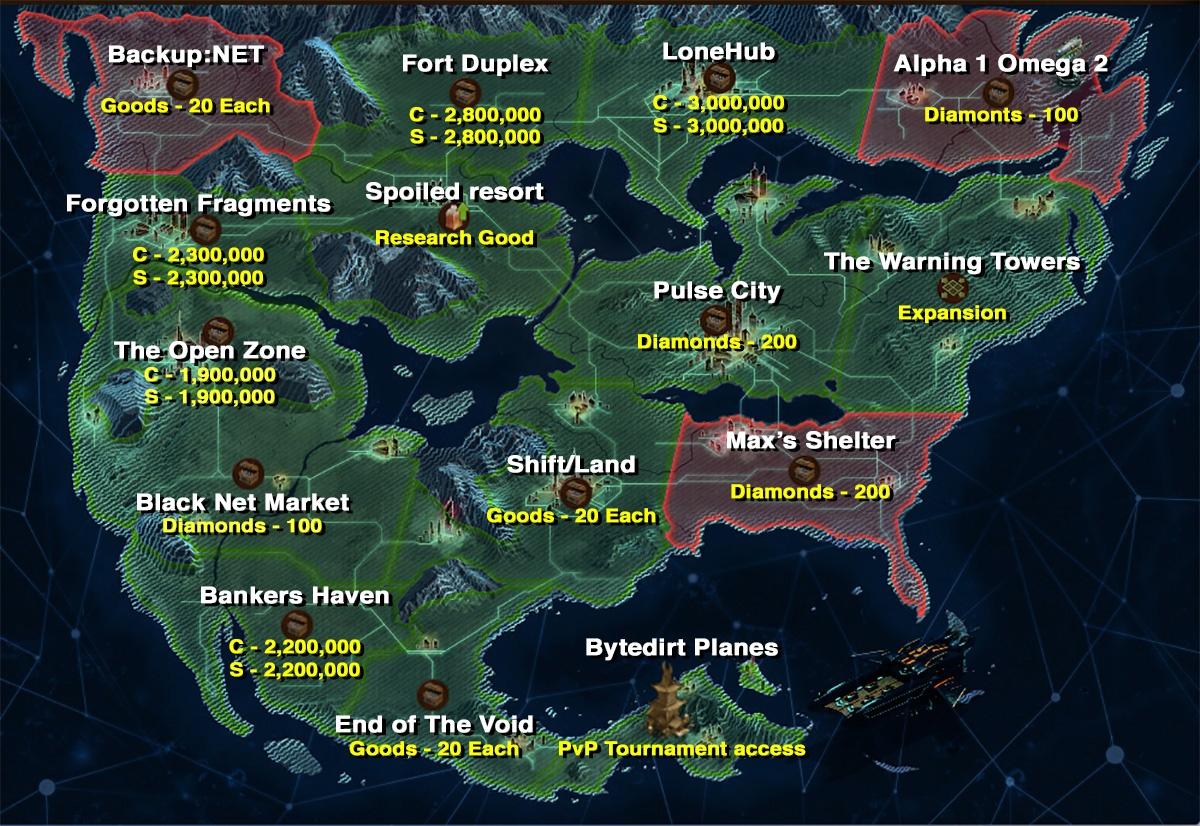 Foe Karte Der Kontinente Ozeanische Zukunft.Drachenschmiede Drachenschmiede